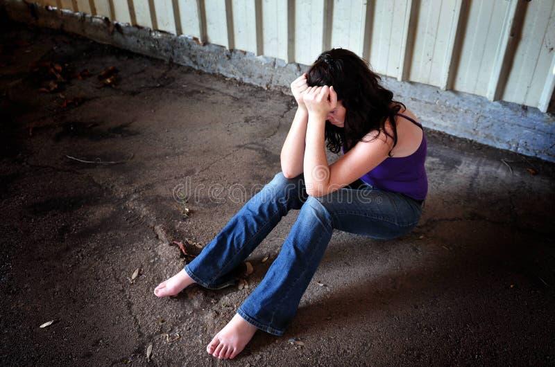 Σεξουαλική παρενόχληση στοκ φωτογραφία