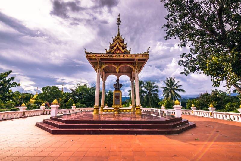 20 Σεπτεμβρίου 2014: Άγαλμα στους κήπους Luang Prabang, Λάος στοκ φωτογραφίες με δικαίωμα ελεύθερης χρήσης