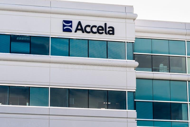 25 Σεπ 2019 San Ramon / CA / ΗΠΑ - Accela headquarters στον Ανατολικό Κόλπο του Σαν Φρανσίσκο· Η Accela Inc σχεδιάζει και παρέχει στοκ εικόνα με δικαίωμα ελεύθερης χρήσης