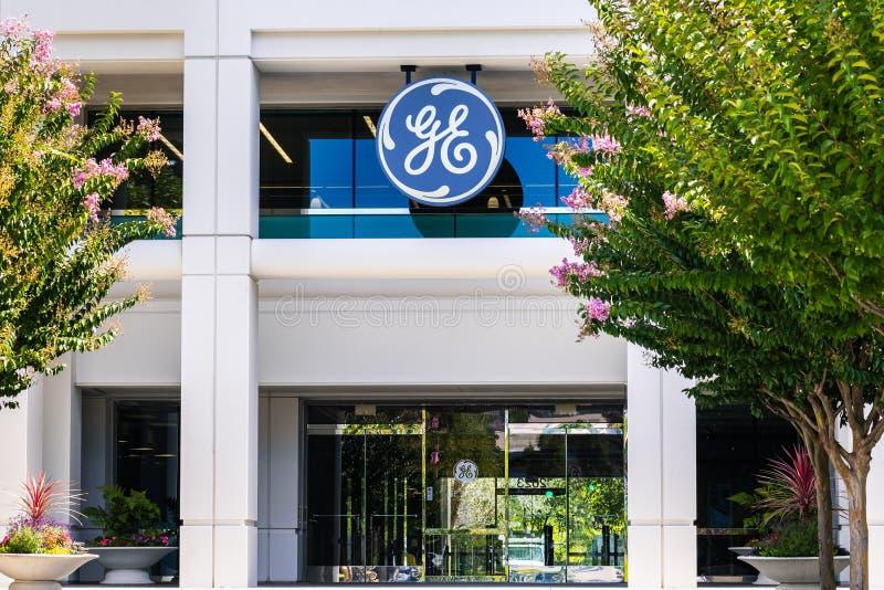 25 Σεπ 2019 San Ramon / CA / USA - GE Digital headquarters, θυγατρική της General Electric· Η GE Digital παρέχει λογισμικό και στοκ εικόνες