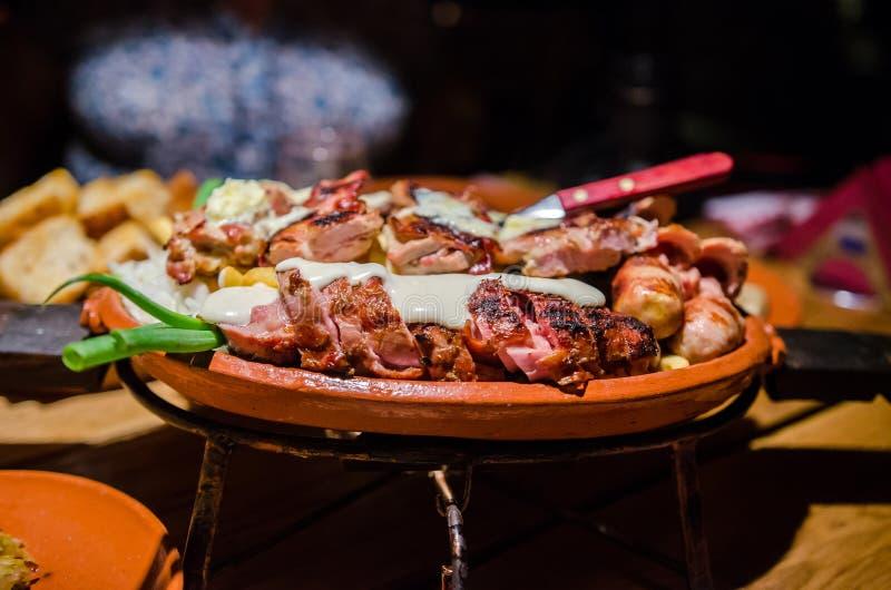 Σερβικά τρόφιμα στοκ φωτογραφίες