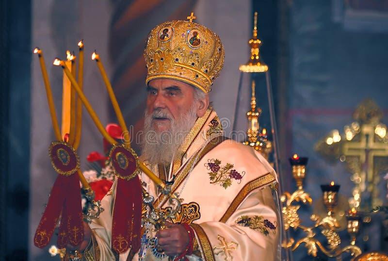 Σερβικός πατριάρχης irinej-4 στοκ φωτογραφίες με δικαίωμα ελεύθερης χρήσης