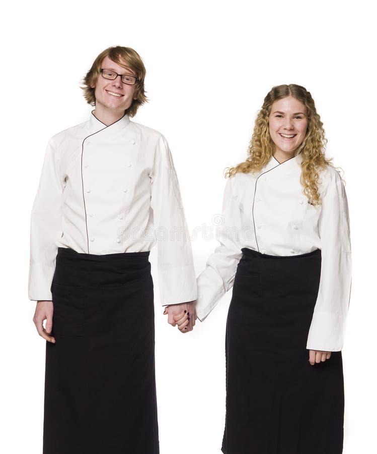 σερβιτόρα σερβιτόρων Στοκ φωτογραφίες με δικαίωμα ελεύθερης χρήσης