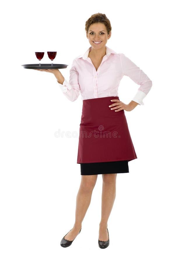 σερβιτόρα στοκ φωτογραφίες