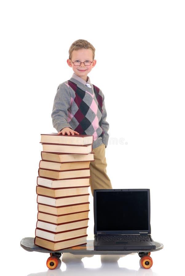 σερφ θαύματος βιβλιοθηκών Διαδικτύου στοκ εικόνα με δικαίωμα ελεύθερης χρήσης