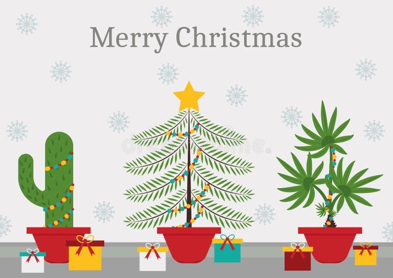 Σε έναν χρόνο Χριστουγέννων κάθε εγκαταστάσεις είναι ένα χριστουγεννιάτικο δέντρο στοκ φωτογραφία με δικαίωμα ελεύθερης χρήσης