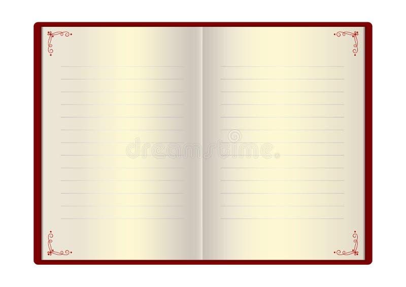 Σελίδες για τα συγχαρητήρια ελεύθερη απεικόνιση δικαιώματος
