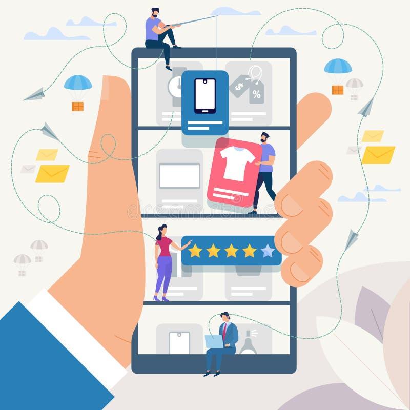 Σε απευθείας σύνδεση αγορές και δίκτυο επίσης corel σύρετε το διάνυσμα απεικόνισης ελεύθερη απεικόνιση δικαιώματος