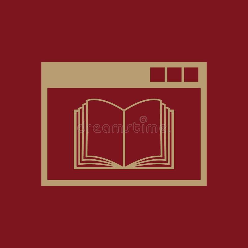 Σε απευθείας σύνδεση εικονίδιο εκπαίδευσης eps σχεδίου 10 ανασκόπησης διάνυσμα τεχνολογίας Σύμβολο εκπαίδευσης Ιστός γραφικός jpg απεικόνιση αποθεμάτων