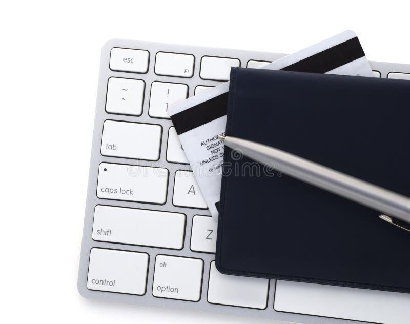 Σε απευθείας σύνδεση τραπεζικές εργασίες στοκ φωτογραφία με δικαίωμα ελεύθερης χρήσης