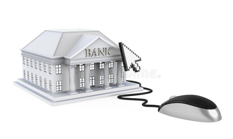 Σε απευθείας σύνδεση τραπεζική απεικόνιση ελεύθερη απεικόνιση δικαιώματος
