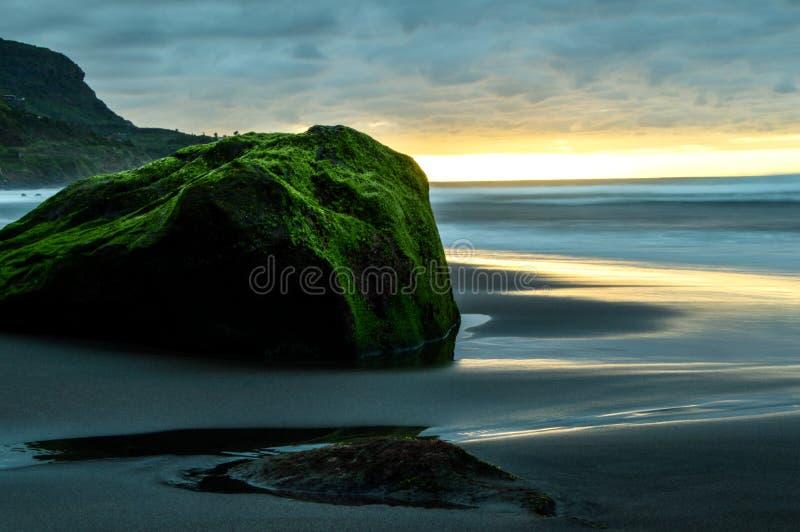 Σε αργή κίνηση παραλία στοκ φωτογραφία με δικαίωμα ελεύθερης χρήσης