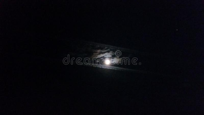 σεληνόφωτο στοκ εικόνα