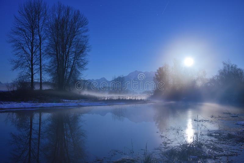 Σεληνόφωτο Sonata στοκ εικόνες
