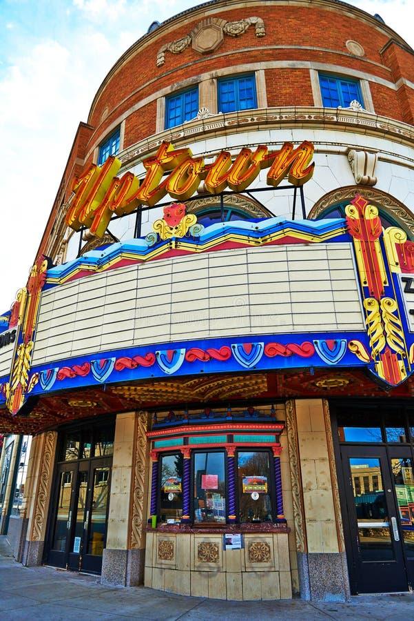 Σε κεντρική συνοικία θέατρο στην πόλη του Κάνσας στοκ φωτογραφία με δικαίωμα ελεύθερης χρήσης