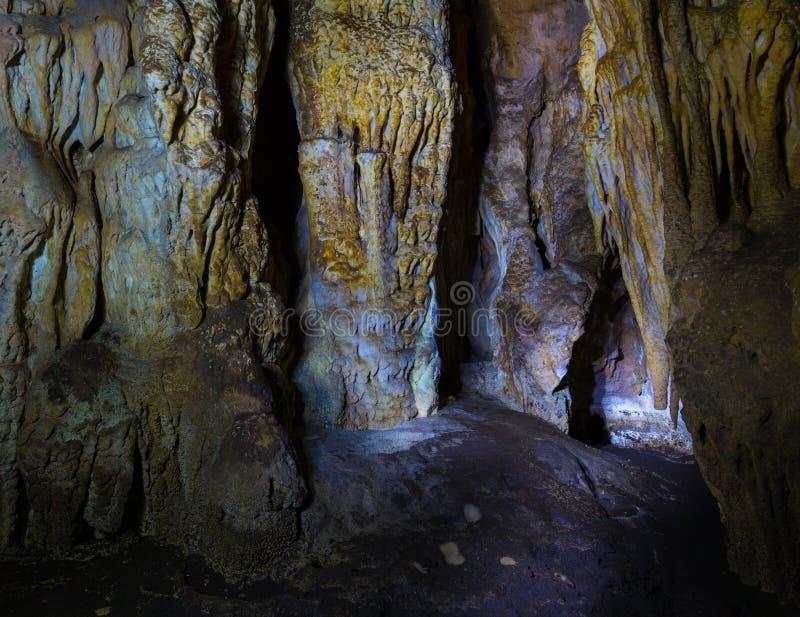 Σε μια σπηλιά στοκ εικόνες