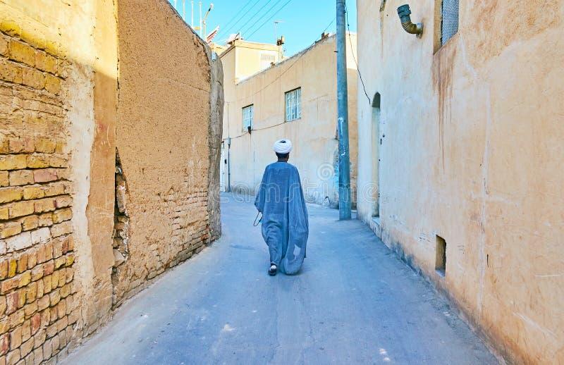 Σε παλαιό Kashan, Ιράν στοκ εικόνα με δικαίωμα ελεύθερης χρήσης