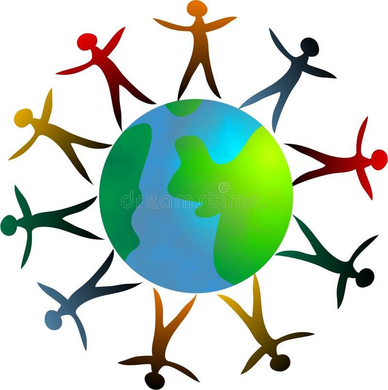 σε όλο τον κόσμο ελεύθερη απεικόνιση δικαιώματος