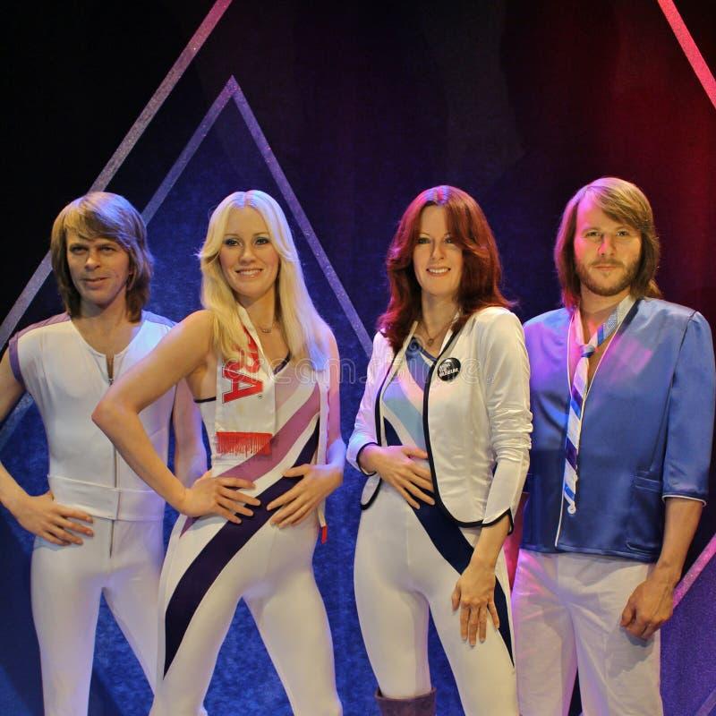 Σε ABBA το μουσείο στη Στοκχόλμη στοκ φωτογραφίες