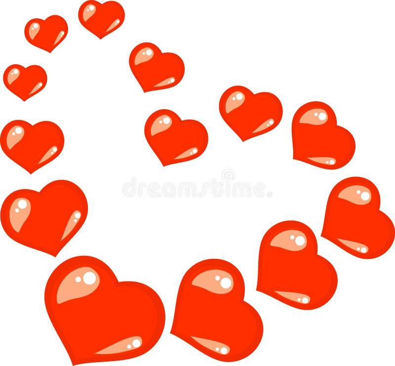 σημάδι αγάπης καρδιών στοκ εικόνες με δικαίωμα ελεύθερης χρήσης