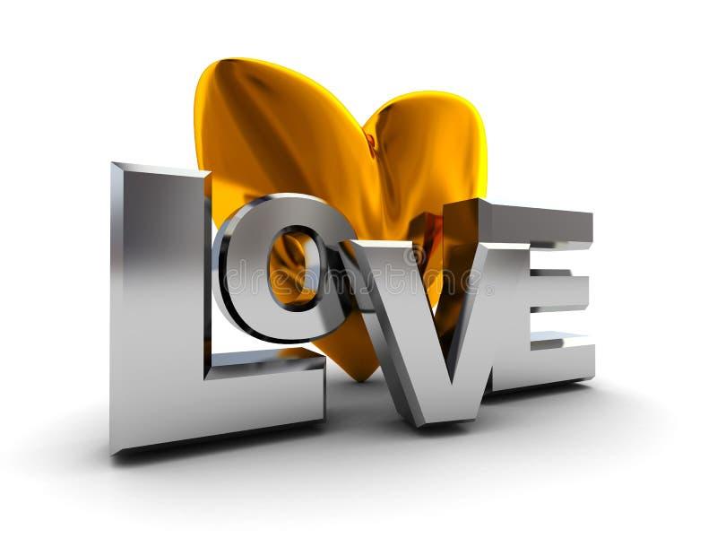 σημάδι αγάπης διανυσματική απεικόνιση