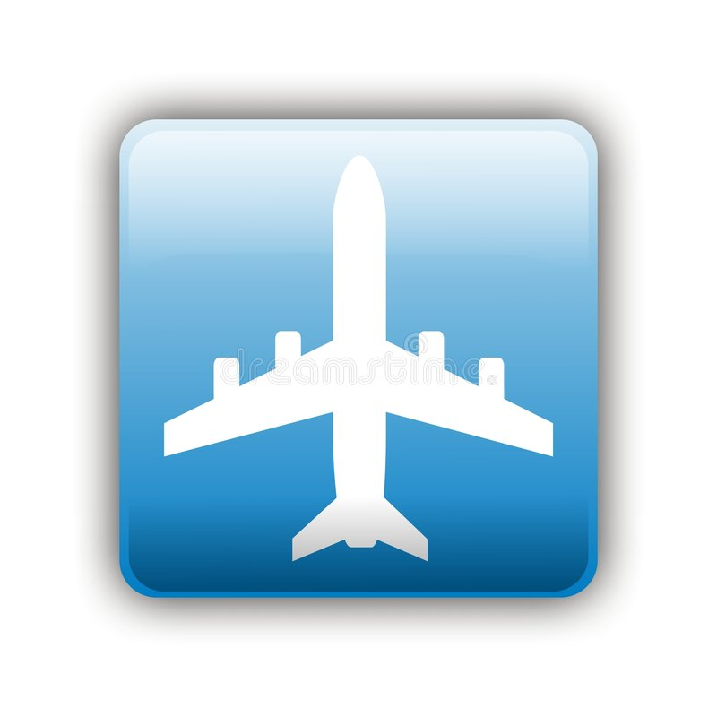 Σημάδι αεροπλάνων στοκ εικόνες