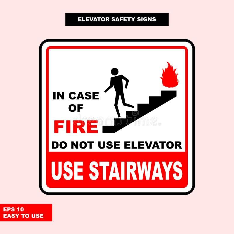 Σημάδι ανελκυστήρων στην έκδοση, εύχρηστος και την τυπωμένη ύλη ύφους διανυσματική απεικόνιση