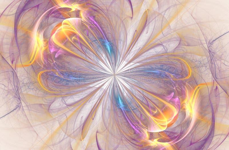 Σημάδι απείρου, παραγμένο υπολογιστής fractal διανυσματική απεικόνιση