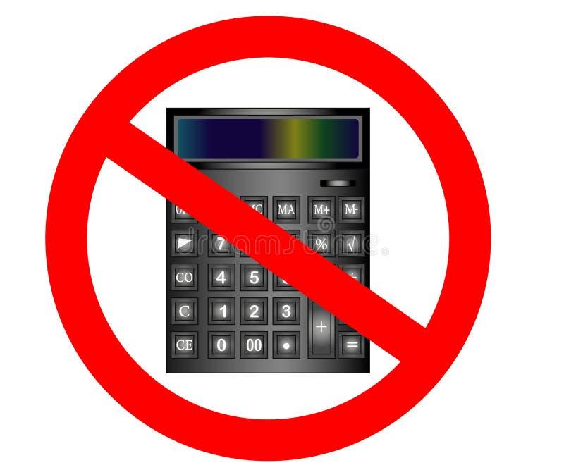 Σημάδι αριθ. ή στάσεων Υπολογίστε το σύμβολο χρηματοδότησης Απαγορευμένο προσοχή σύμβολο στάσεων απαγόρευσης ελεύθερη απεικόνιση δικαιώματος