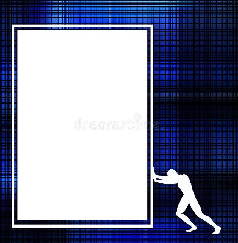 Σημάδι ατόμων διανυσματική απεικόνιση