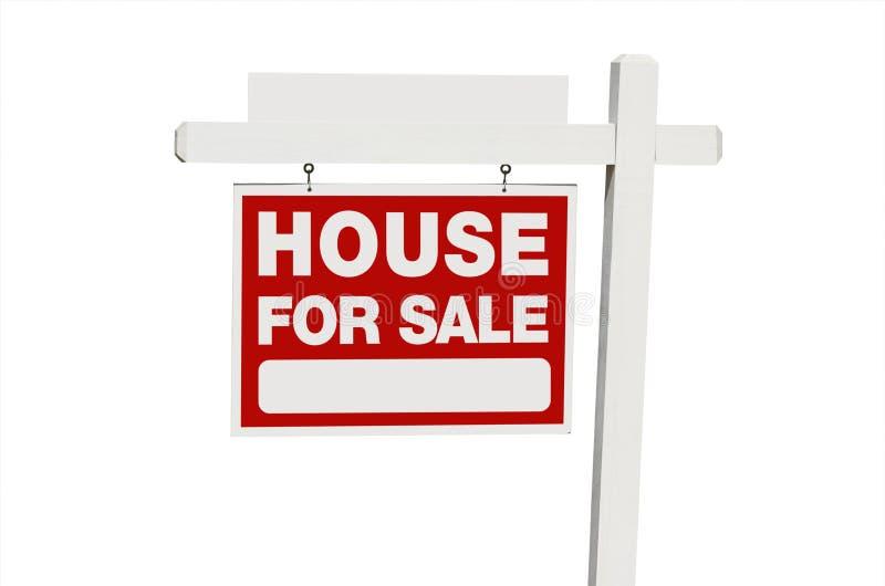 σημάδι βασικής πραγματικό πώλησης κτημάτων στοκ φωτογραφία με δικαίωμα ελεύθερης χρήσης