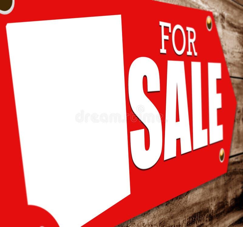 Σημάδι για την πώληση στοκ φωτογραφίες με δικαίωμα ελεύθερης χρήσης