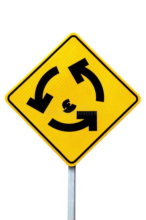 σημάδι διασταυρώσεων κυ& στοκ εικόνα με δικαίωμα ελεύθερης χρήσης