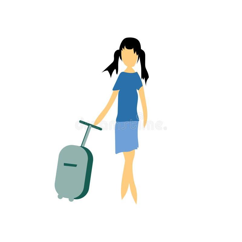 Σημάδι και σύμβολο μόδας θηλυκό πρότυπο διανυσματικό διανυσματικό που απομονώνονται στο άσπρο υπόβαθρο, θηλυκή πρότυπη διανυσματι διανυσματική απεικόνιση