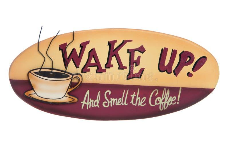 Σημάδι καφέ στοκ φωτογραφία