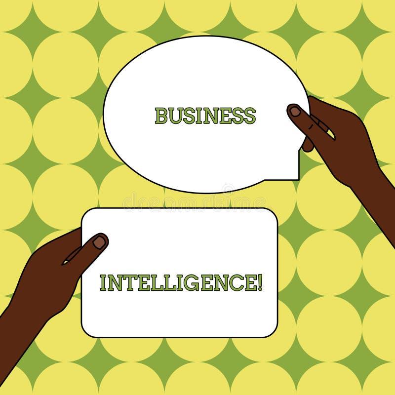 Σημάδι κειμένων που παρουσιάζει επιχειρηματική κατασκοπεία Εννοιολογική καλύτερη πρακτική φωτογραφιών των πληροφοριών να βελτιστο απεικόνιση αποθεμάτων