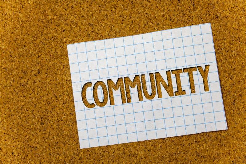 Σημάδι κειμένων που παρουσιάζει Κοινότητα Εννοιολογικό ιστορικό του Κορκ ομάδας ενότητας συμμαχίας κρατικών συνεταιρισμών ένωσης  στοκ εικόνες