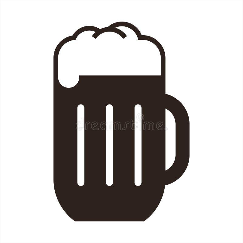 Σημάδι κουπών μπύρας ελεύθερη απεικόνιση δικαιώματος