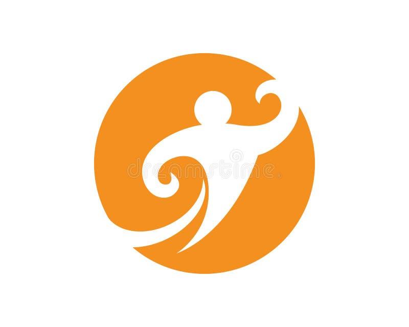 Σημάδι λογότυπων υγειονομικής περίθαλψης διανυσματική απεικόνιση