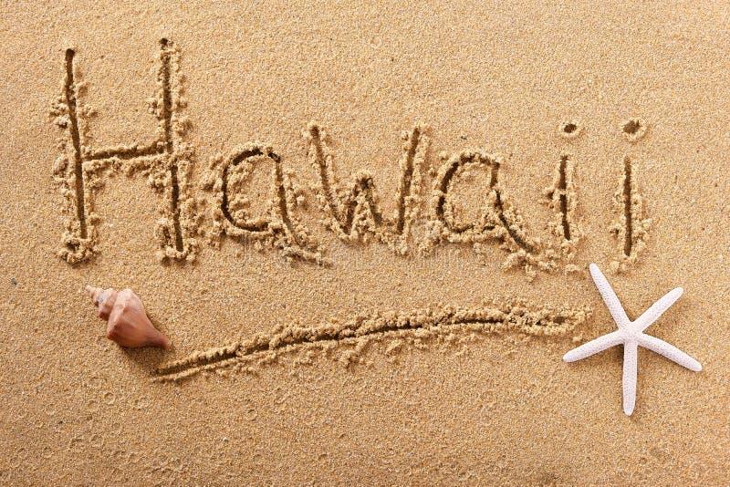 Σημάδι μηνυμάτων γραψίματος θερινών παραλιών της Χαβάης στοκ φωτογραφίες με δικαίωμα ελεύθερης χρήσης