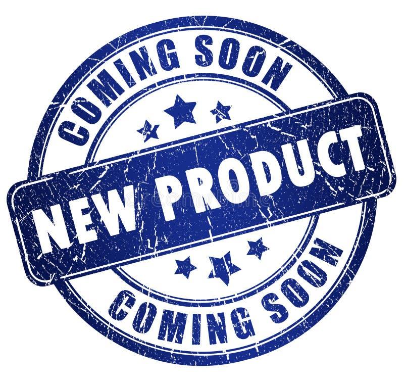 σημάδι νέων προϊόντων ελεύθερη απεικόνιση δικαιώματος