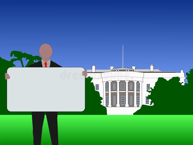 σημάδι Ουάσιγκτον συνεχ απεικόνιση αποθεμάτων