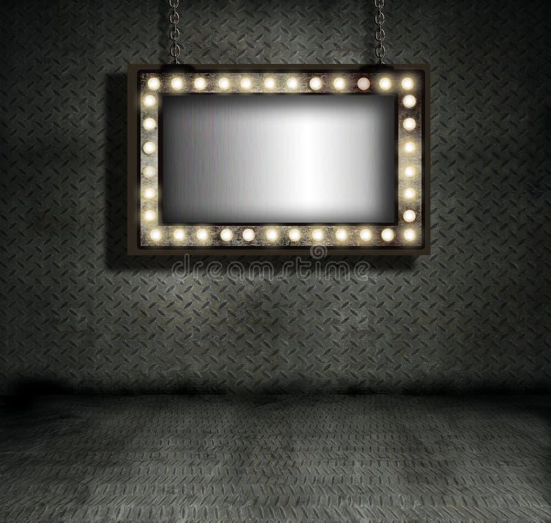 σημάδι σκηνών απεικόνιση αποθεμάτων