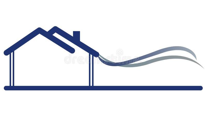 σημάδι σπιτιών διανυσματική απεικόνιση