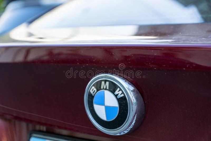 Σημάδι της BMW στοκ φωτογραφία με δικαίωμα ελεύθερης χρήσης