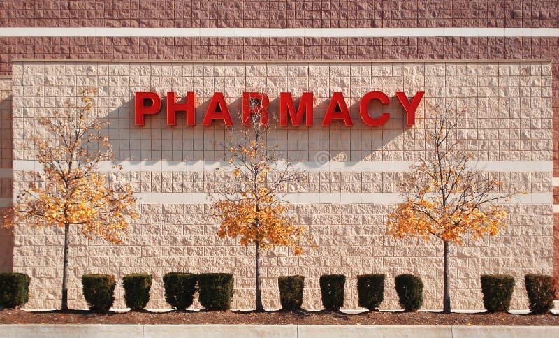 σημάδι φαρμακείων στοκ εικόνες με δικαίωμα ελεύθερης χρήσης