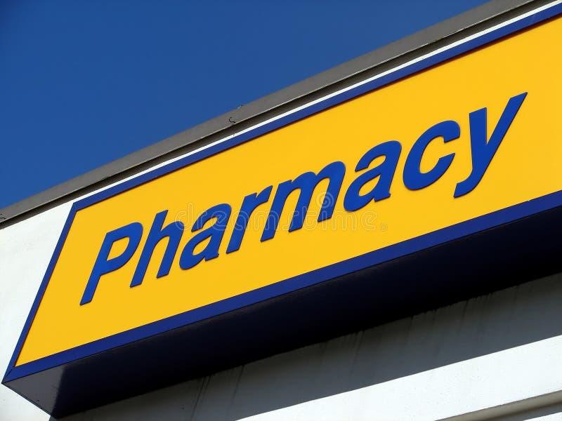 σημάδι φαρμακείων στοκ φωτογραφίες με δικαίωμα ελεύθερης χρήσης
