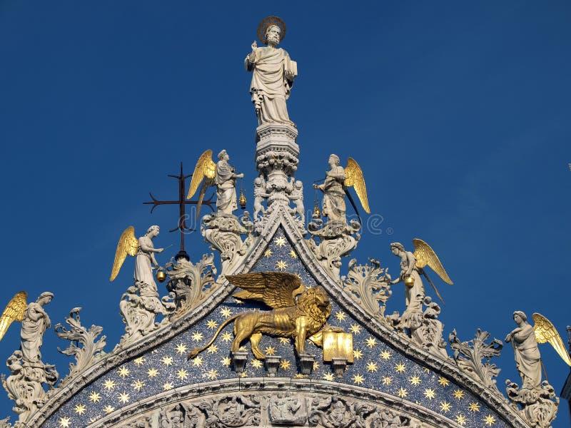σημάδι s ST Βενετία βασιλικών στοκ φωτογραφίες