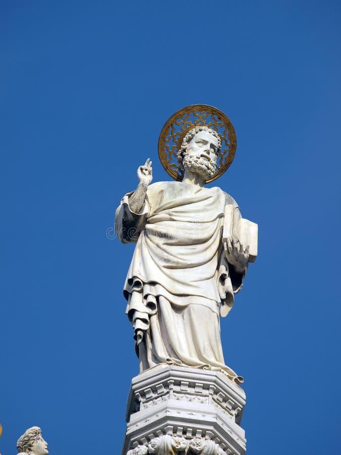 σημάδι s ST Βενετία βασιλικών στοκ εικόνες