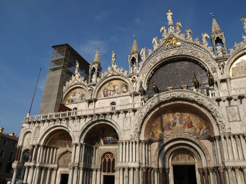 σημάδι s ST Βενετία βασιλικώ&nu στοκ φωτογραφία με δικαίωμα ελεύθερης χρήσης